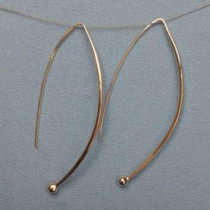 Silpada Spheres on Wires Drop Earrings